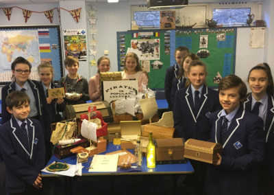 Year 7 pirate project
