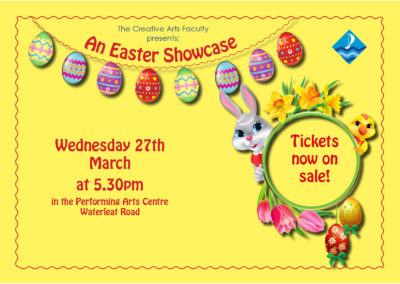 An Easter Showcase – tickets now available
