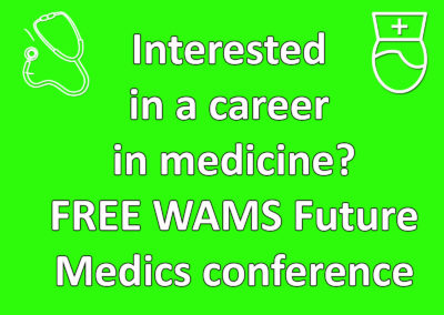 Calling all students interested in studying medicine!