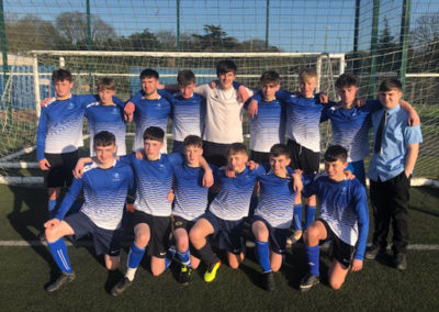 Year 11 football team reach South Devon final