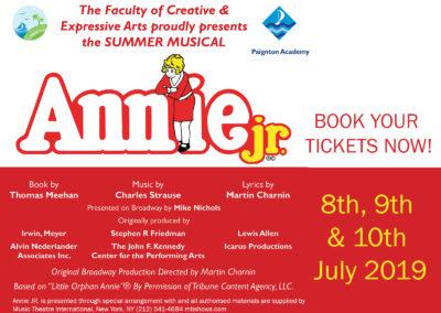 Annie – The Summer Musical
