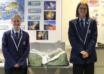Year 10 Geography Students Create Model of Working Drainage Basin