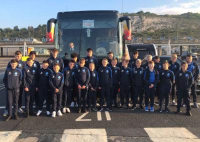 Year 7 & Year 10 Students 'Go Dutch' on Football Tour of Arnhem