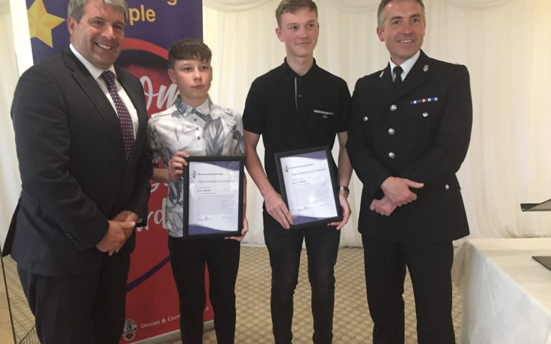 Devon & Cornwall Police Awards Ceremony