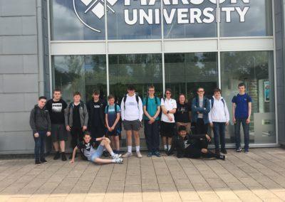 Year 10 visit Marjons University