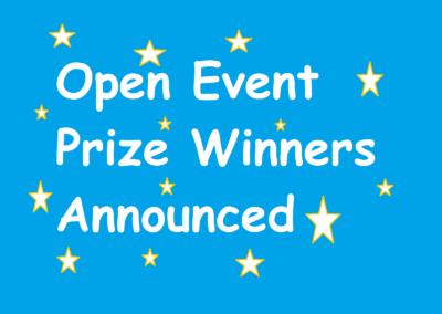 Open Event Prize Winners Announced