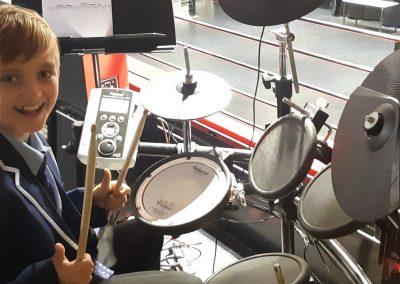 Steele Drummer!