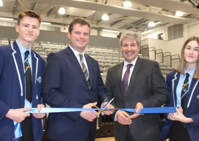 Borough Road Arena Officially Opens
