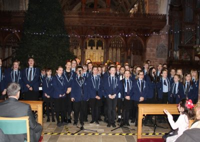 Christmas Concert Delights Sell-Out Audience