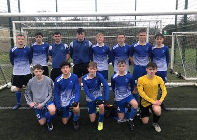 Year 11 Football Team Outclass Exmouth