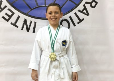 Tae Kwon Do Champion Harrison