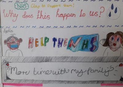 Students create collaborative artwork as part of Mental Health Week