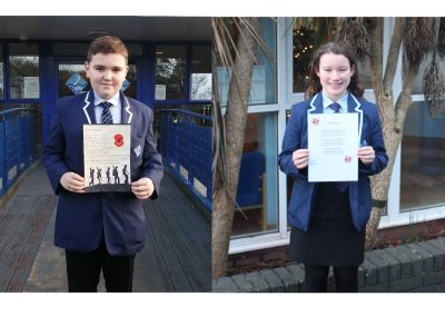 Remembrance Competition Winners