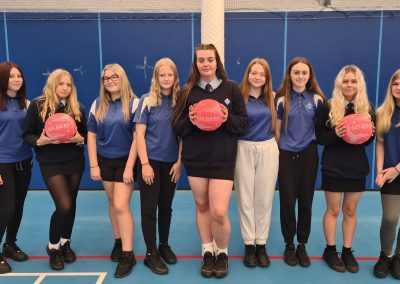 Year 11 Get The Ball Rolling!